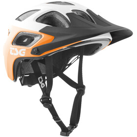 TSG Seek Graphic Design Helmet block acid orange-white